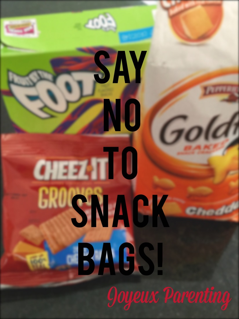Say No To Snack Bags!